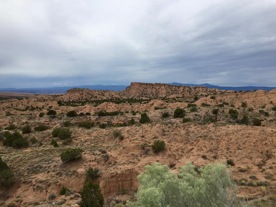 見渡す限りの砂漠