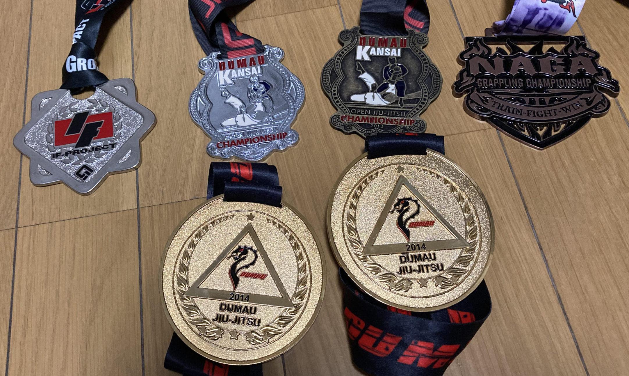 過去の大会でのメダル