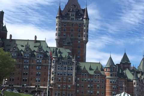 城塞の美しい街ケベックシティー(カナダ)へ行った話①