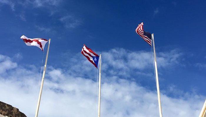 合衆国、プエルトリコの国旗